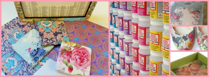 Decoupage Collage