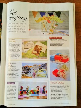Our Wedding DIY Makes in Cotswold Life